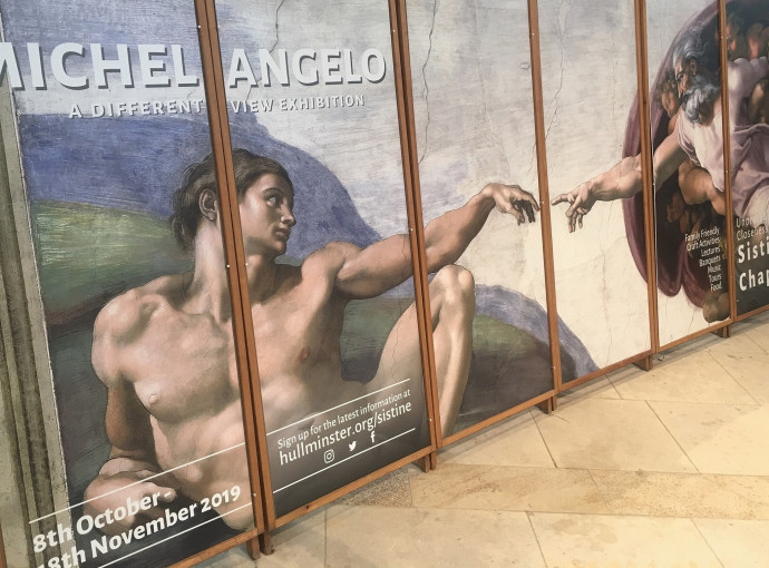 Tickets now available for Minster Michelangelo spectacular