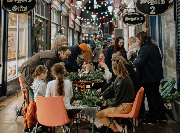 Paragon Arcade invites shoppers to 'meet the makers' as festive programme launched