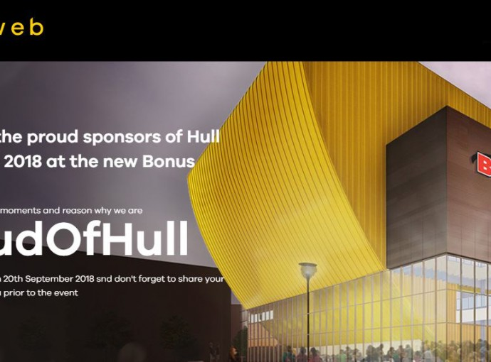 Eyeweb launches #ProudOfHull campaign