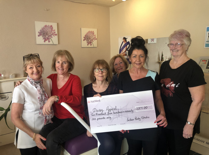 Inches and pounds add up to weighty contribution to Daisy Appeal