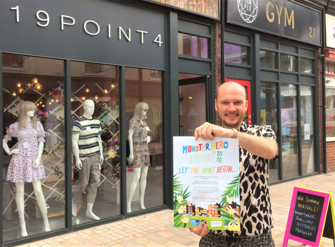 Monster Hero trail shares superpower stories with families in Hull city centre