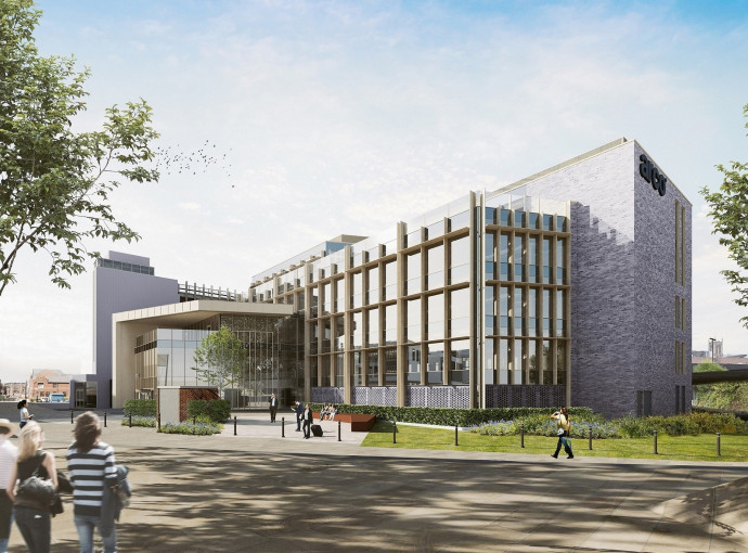 Building begins on showpiece Arco head office in Hull's Fruit Market