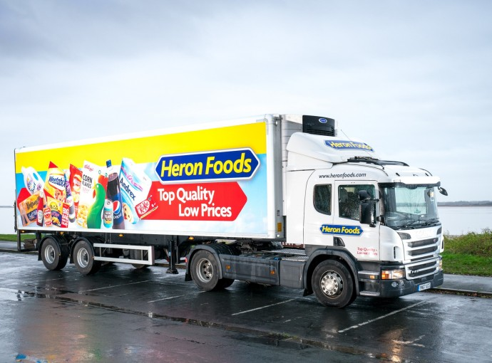 Leading temp-controlled transport firm in boost to Heron Foods