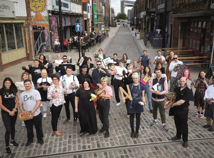 New businesses, jobs and homes as Fruit Market delivers regeneration vision