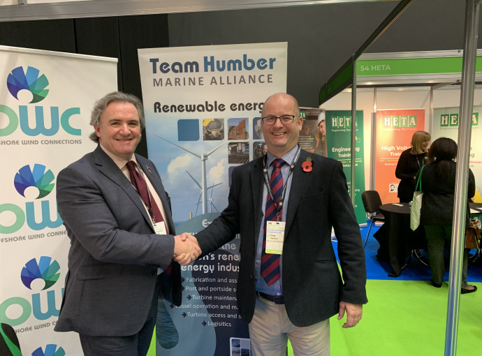 Global giant becomes first Team Humber Marine Alliance partner