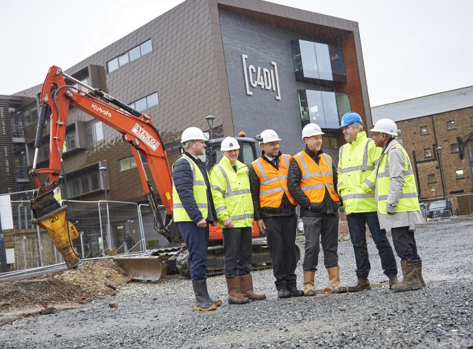 Next step for tech success as work starts on C4DI sister building
