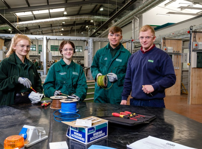 Apprentices settle in to new £4.5m facility