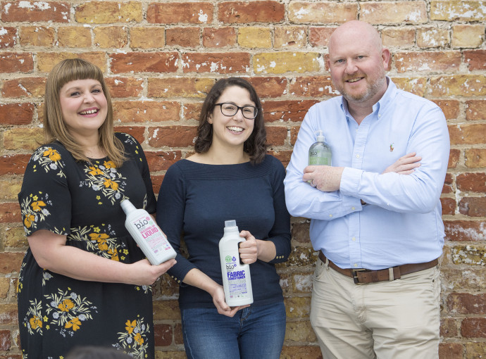 Ethical cleaning company launches container 'laundry' service trial
