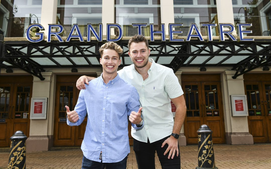 Dancing brothers launch pantomime at Wolverhampton Grand Theatre