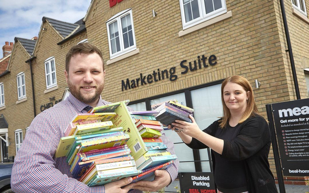 Housebuilder backs appeal to bring the joy of reading to children in hospital
