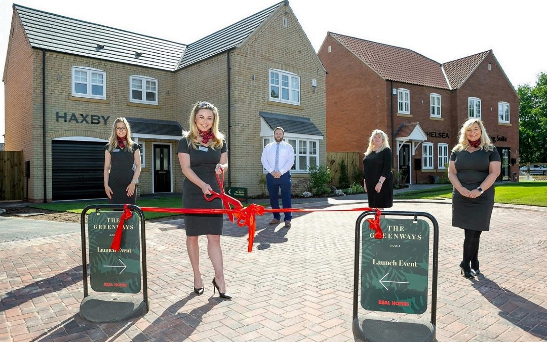 Beal opens show homes as first buyers move in at The Greenways