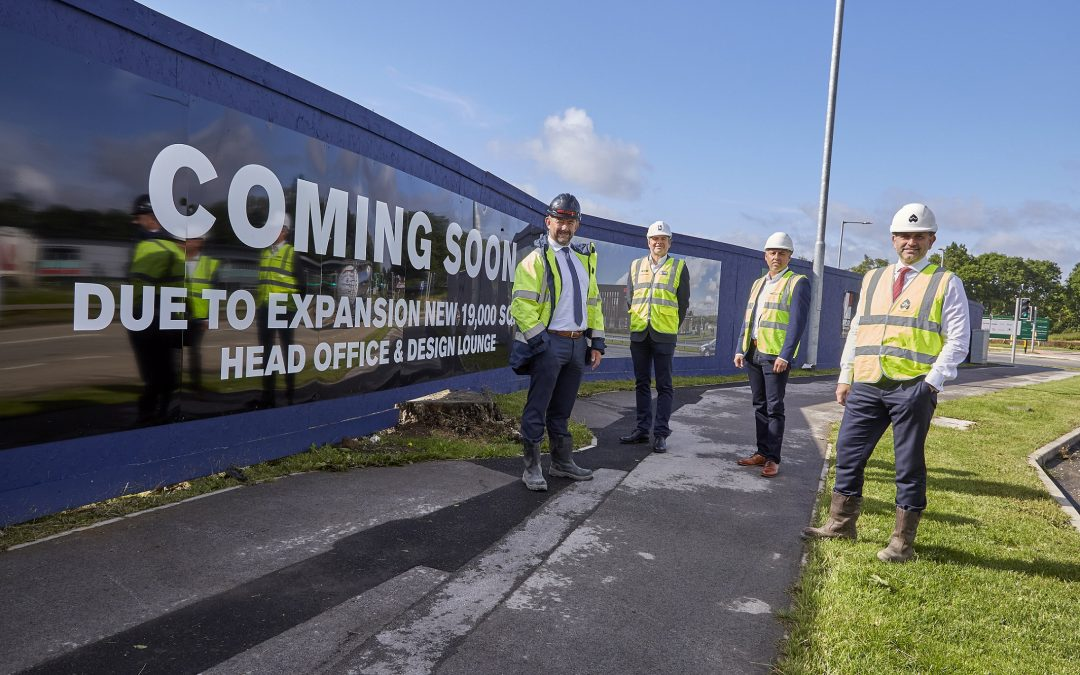 Building begins on Beal's own new home at Bridgehead business park