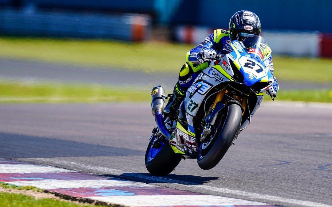 British Superbike rider signs sponsorship deal with Hull-based vehicle branding service
