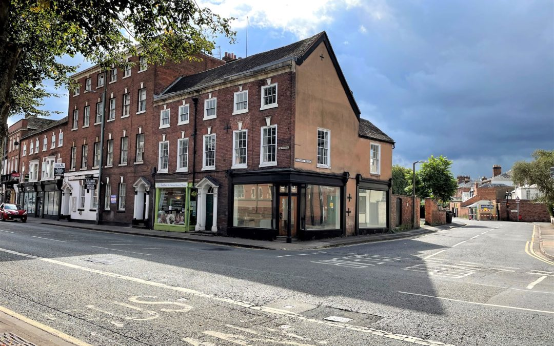 Worcester property with £19k rents and huge development potential to be auctioned