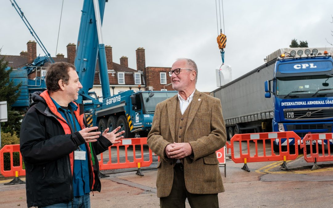 Cyclotron delivery lifts Daisy Appeal into UK top tier for medical scanning and research