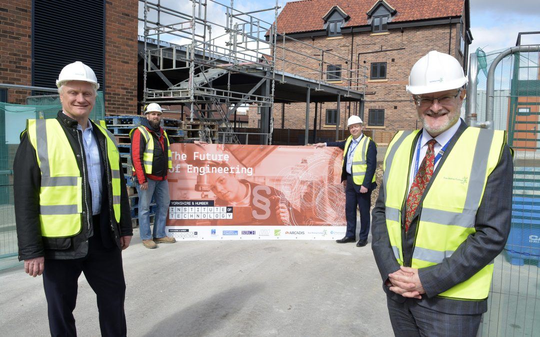 Local MP visits college's new Institute of Technology