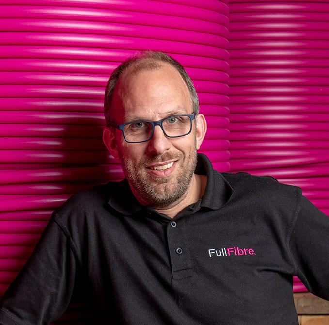 Dan Jones of Full Fibre