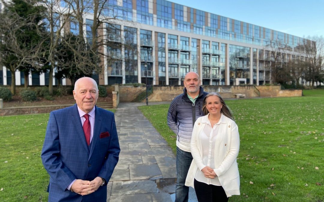 Former Hull FC captain becomes first resident of Glass House apartments