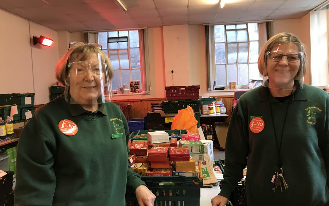 Kidderminster law firm donates £1,000 to support town's Foodbank