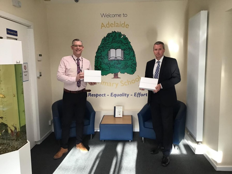 Leading accountancy firm supports local schoolchildren with donation of iPads