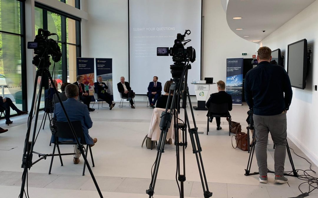 The Humber's 'fantastic' freeports opportunity highlighted at launch of Humber Business Week 2021
