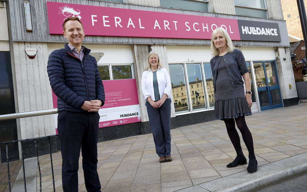 Feral Art School sets up first home as former bank becomes creative hub
