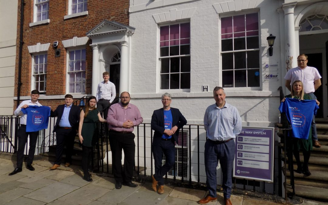 Accountancy firm in post-lockdown fundraising fitness challenge