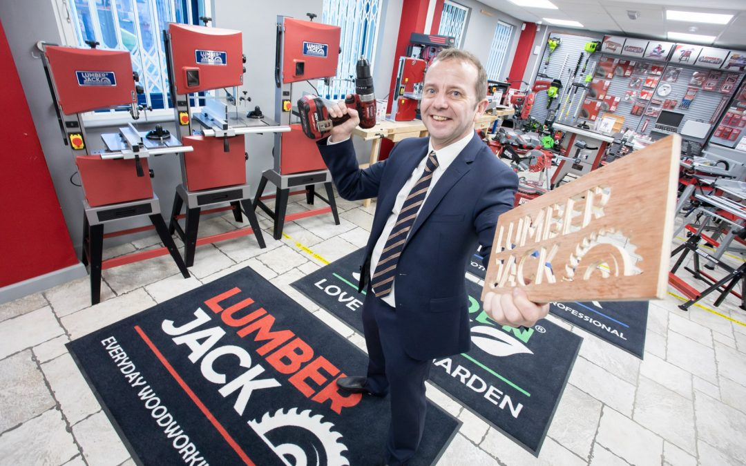 New deal brings retail opportunities into The Range for Lumberjack Tools