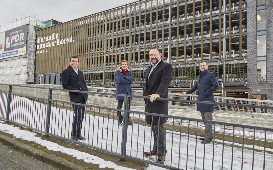 Multi-storey car park opens as Fruit Market regeneration drives forward