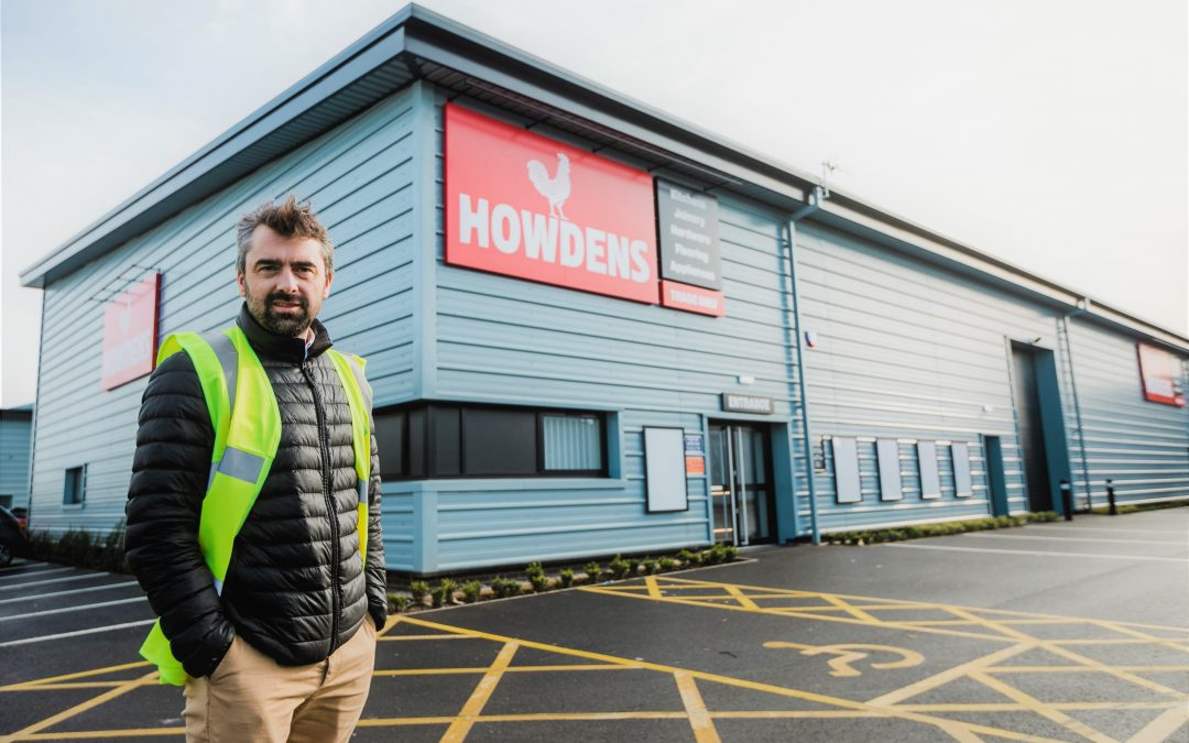 Howdens joins national brands at expanding Trade Yard
