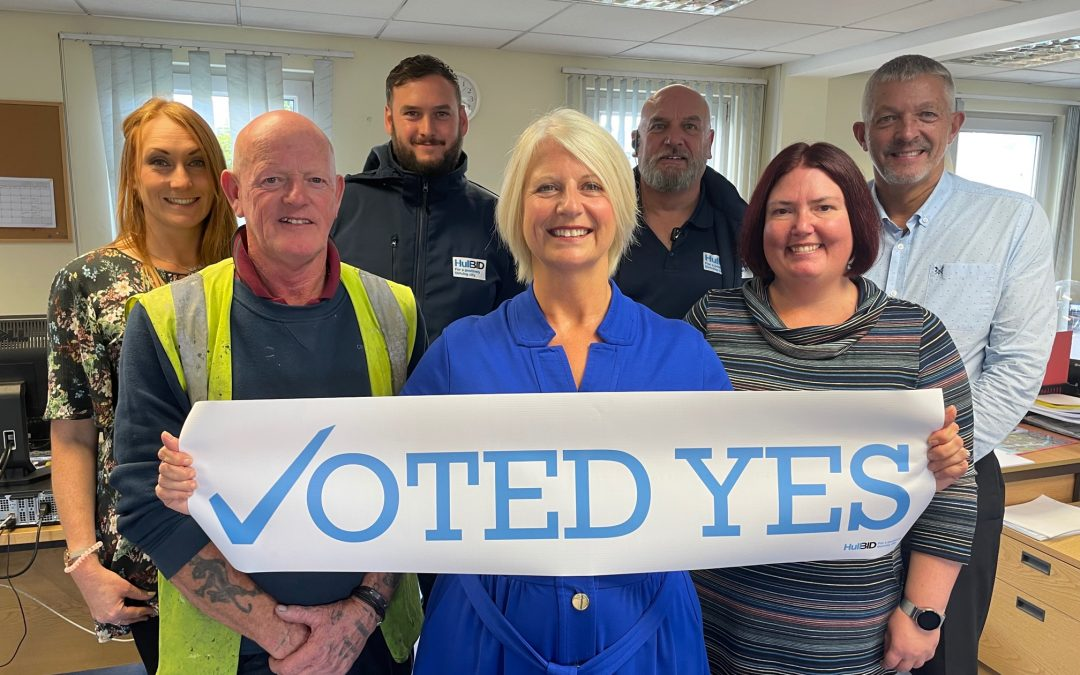 HullBID promises five more years of positive support for businesses after ballot success