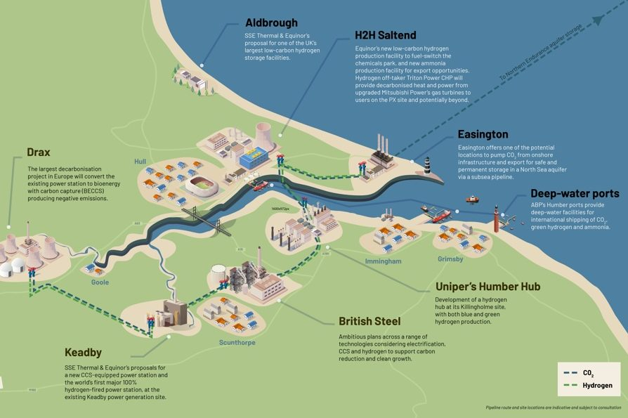 Humber region's LEPs welcome East Coast Cluster announcement