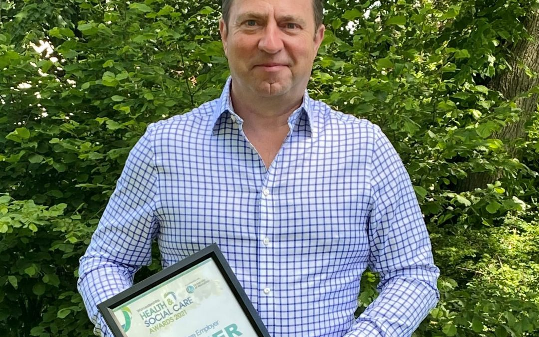 Care home group boss wins top employee healthcare award