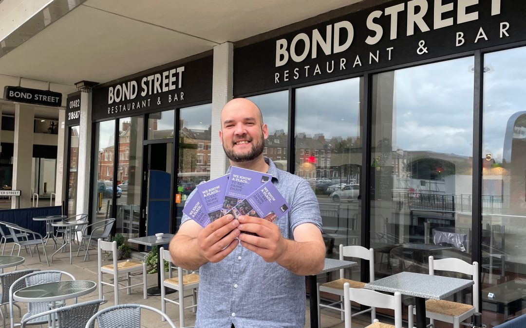 Food and drink brochure to boost city centre hospitality sector