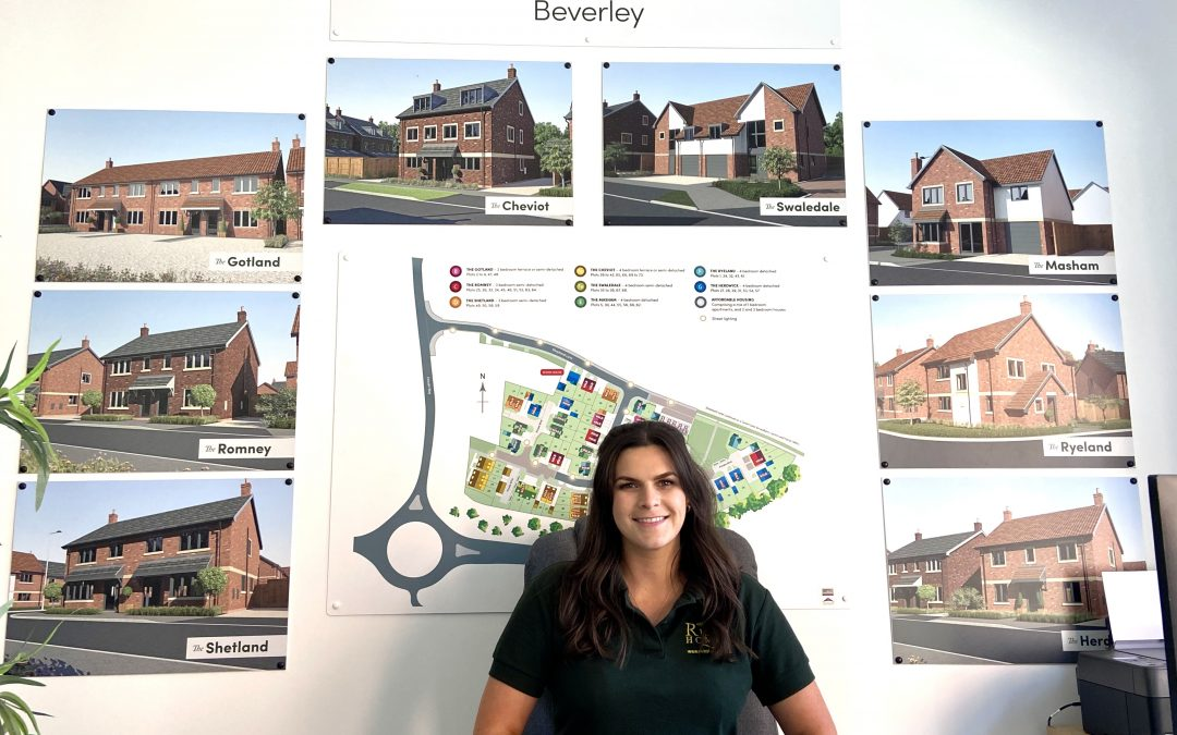 Risby Homes strengthens team as more than 60% of Beverley development reserved