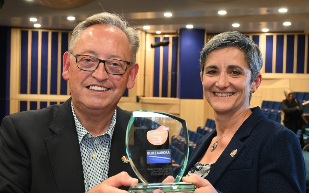 Global award for innovative Humber climate change media series