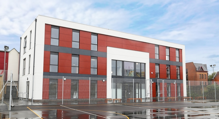 Modular buildings specialist completes school's new teaching block