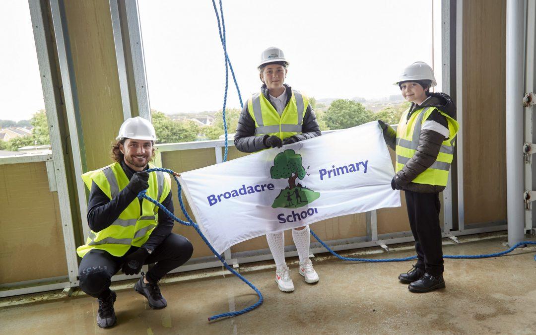 Major milestone celebrated at new Broadacre Primary School development