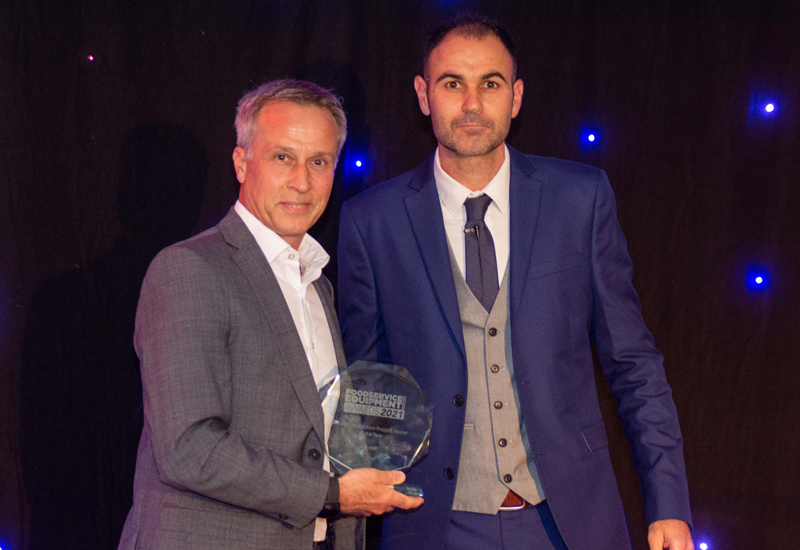 Catering firm celebrates after winning national award