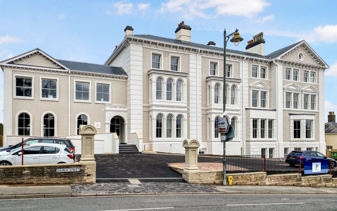 Five sales at impressively converted Georgian-style building in Great Malvern that's up for award