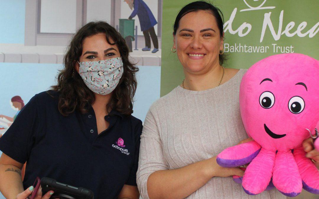 Feedo Needo and Octopus Energy team up to combat food poverty