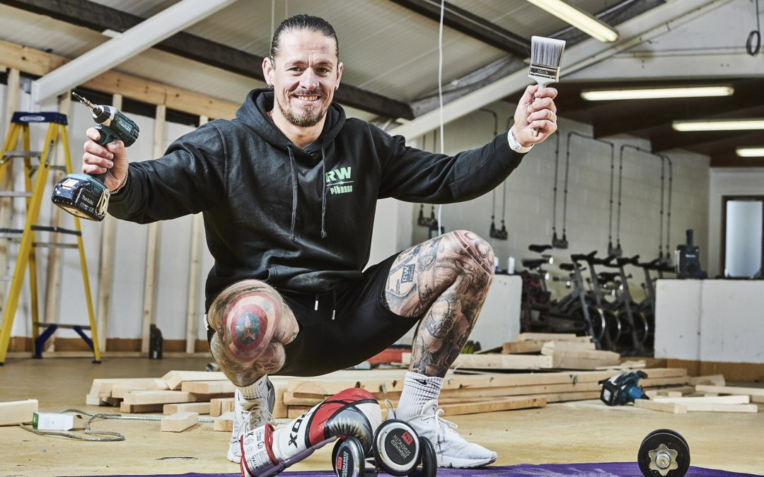 Albrighton entrepreneur spins into @The-Hub with £50,000 fitness investment for the community