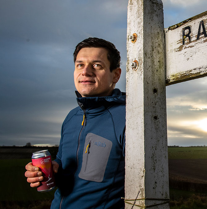 Mark Savile of Raven Hill Brewery, Driffield