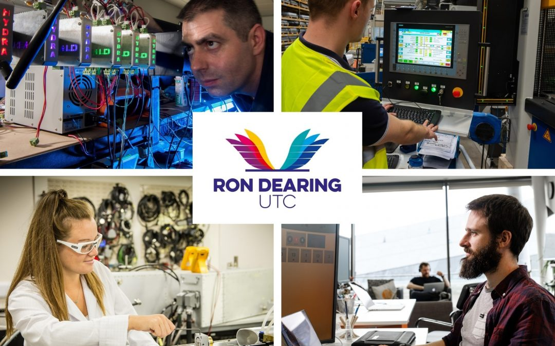 New industry-leading partners open up exciting opportunities for Ron Dearing UTC students