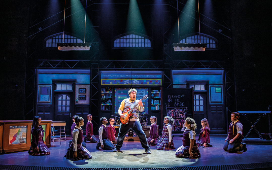 Local actor to lead UK tour cast of Lloyd Webber's School of Rock – The Musical