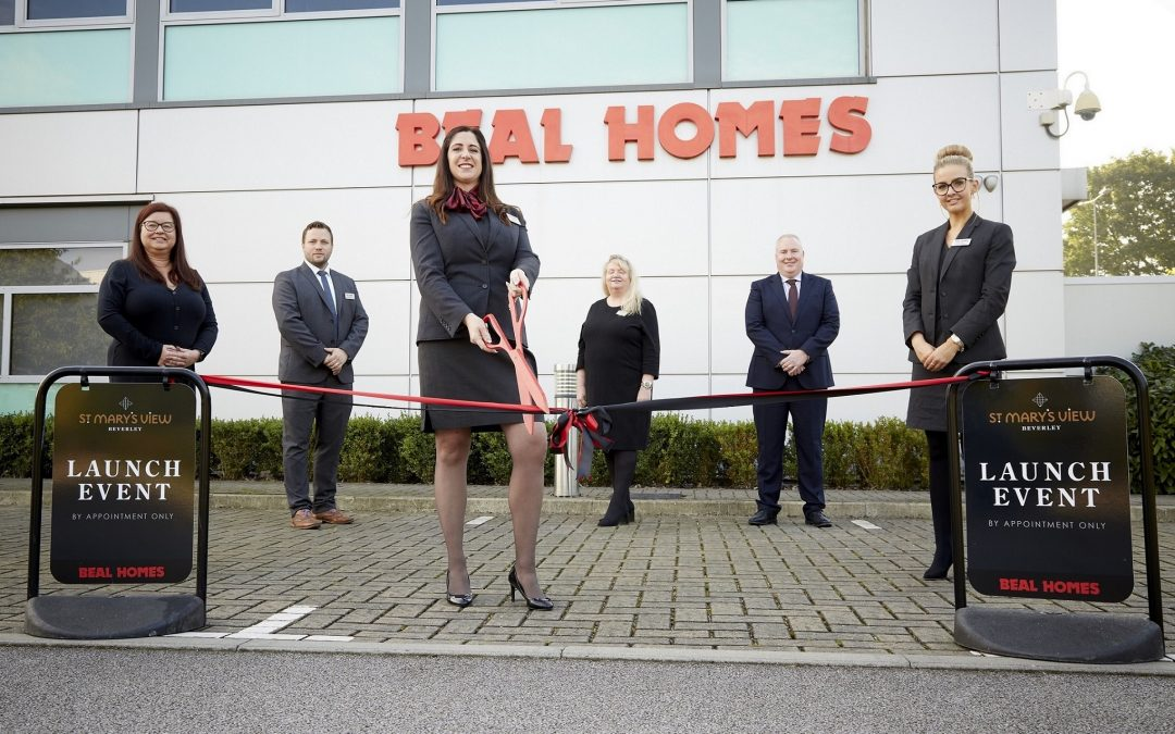 Househunters reserve their dream homes at Beal's new Beverley development