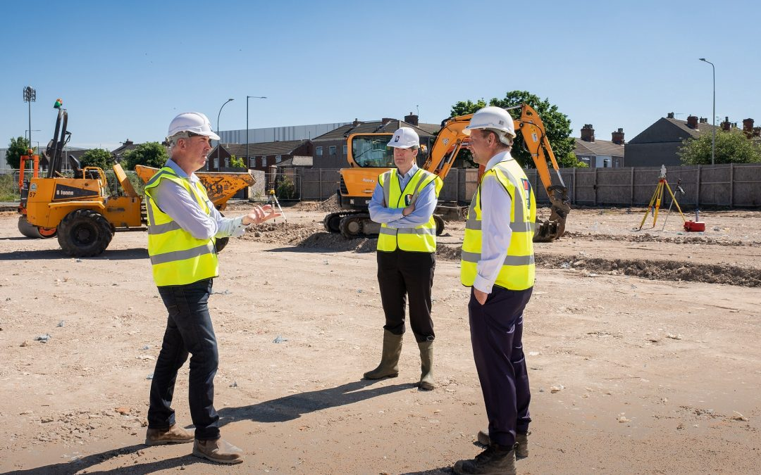 Exciting new era for landmark Grimsby site as construction work begins