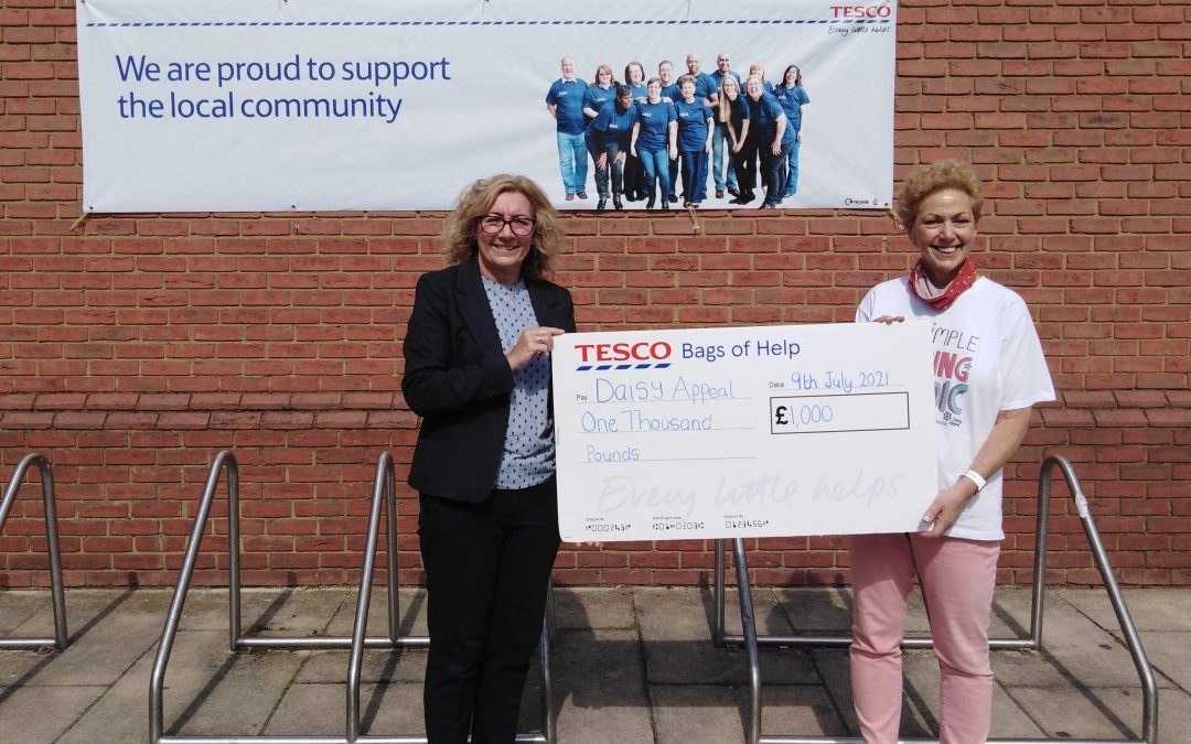 Tesco donation takes Daisy Appeal closer to fundraising target