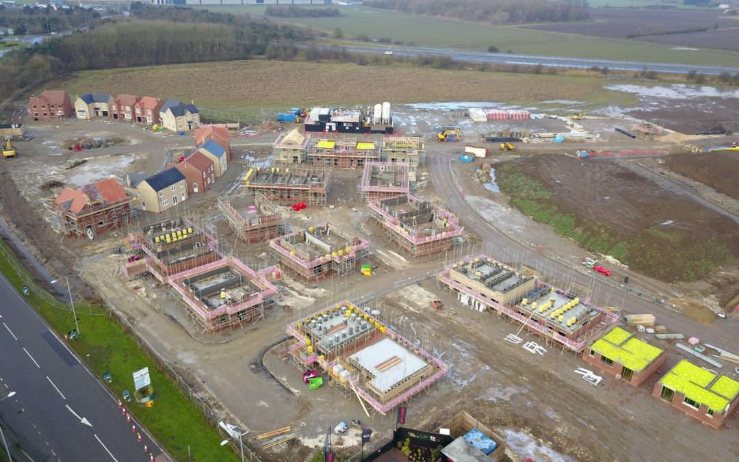 Game-changing housing development in Goole takes shape