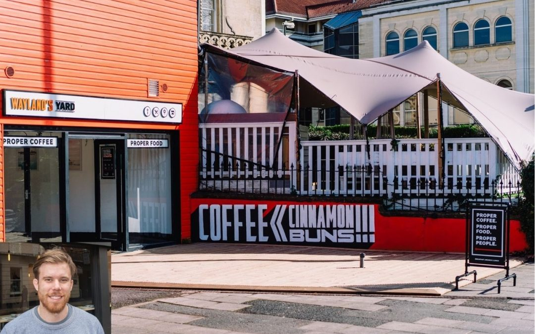 Former rugby star expands coffee shop brand into Bristol, helped by Thursfields